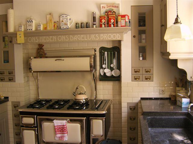 Jaren 30 stijl keuken for Jaren 30 stijl interieur
